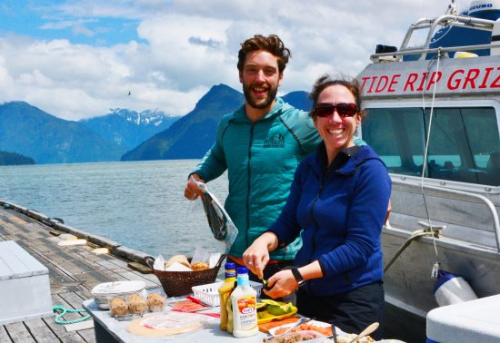 Tide Rip Grizzly Tours: Kyle and Jackie - did everything possible to make our trip memorable