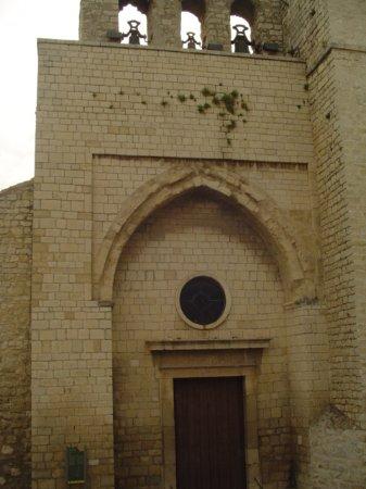 Iglesia de San Juan: Portada principal desde la Plaza de San Juan