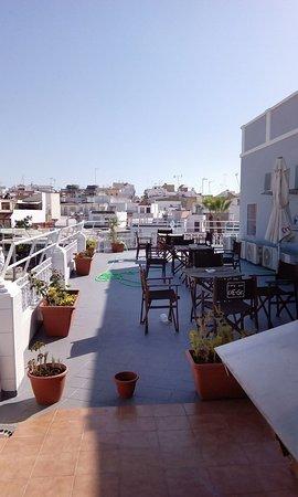 Las Cabezas de San Juan, España: Terraza principal
