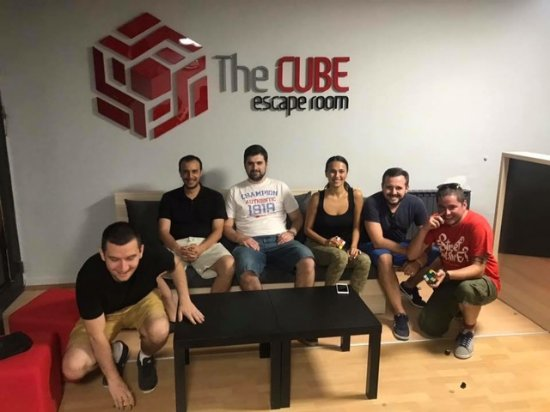 The Cube Escape Room