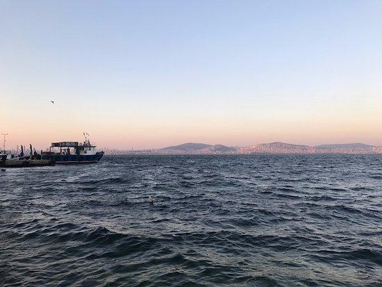 Princes' Islands, Turquia: Mimoza gün batımı
