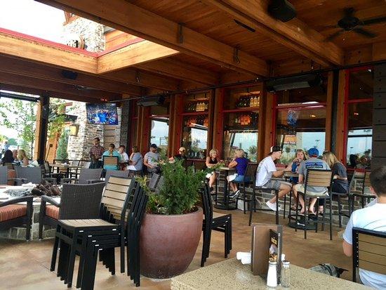 Lazy Dog Restaurant U0026 Bar: Outside On The Patio