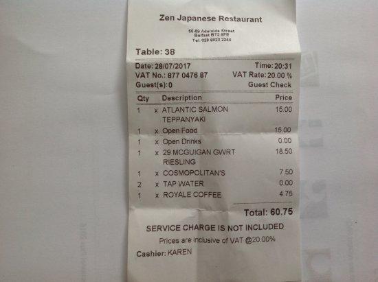 Zen : The bill