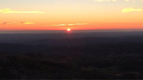 Caramulo, Portugal: Caramulinho at sunset