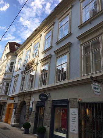 Sporgasse: Vecchi edifici
