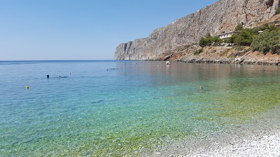 Gerolimenas, Grekland: spiaggia