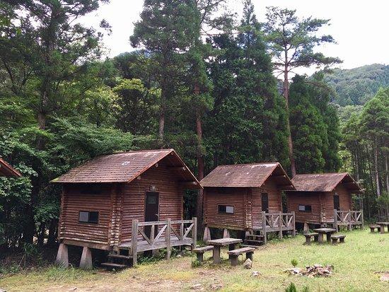 Saiki, اليابان: 電気がありません。本格派向けのキャンプ場。