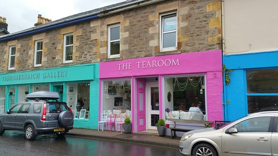 Tighnabruaich, UK: THE TEA ROOM