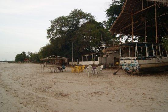 Grande Beach: Vista da Praia Garnde - Algodoal