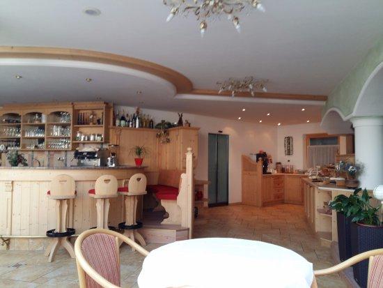 Garni Cudlea: sala colazione