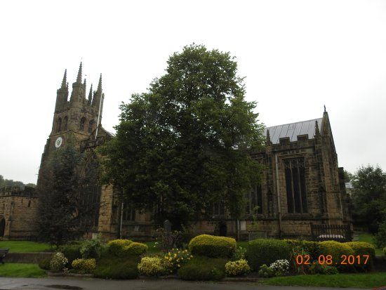 The Cathedral of the Peak: tideswell cathedral