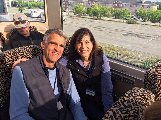 McKinley Explorer: Roomy seats!