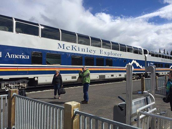 McKinley Explorer: Beautiful train