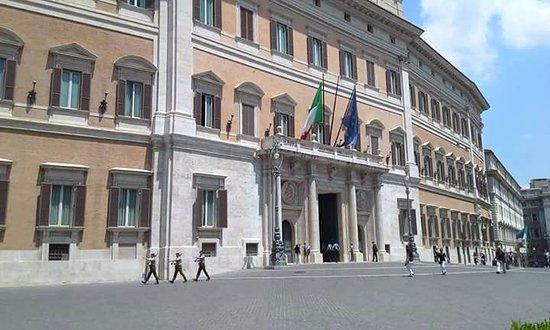 Palazzo montecitorio roma picture of palazzo for Camera dei deputati palazzo montecitorio