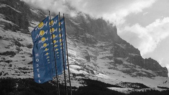Mountain Hostel Grindelwald: Eiger Nordface