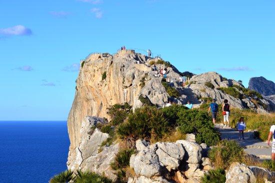 Formentor, España: Смотровая площадка Mirador Es Colomer