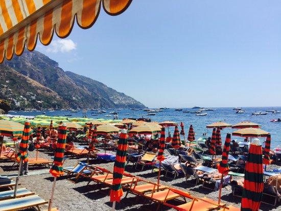 هوتل بوبيتو: Beach View from Hotel Pupetto