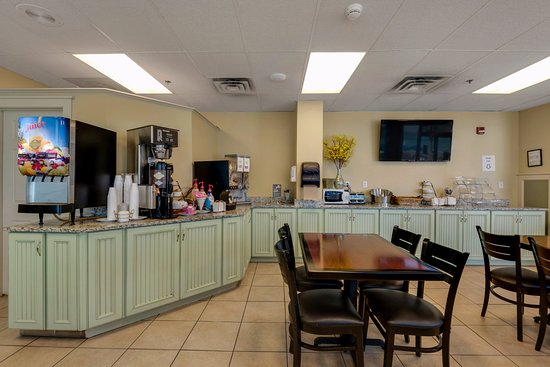 Beachcomber By The Sea: Free Continental Breakfast