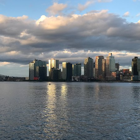 The Water Club: View across the east river