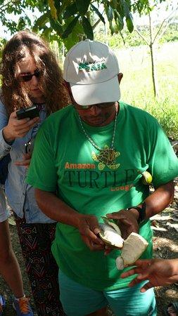 Amazon Turtle Lodge: exotic fruit tasting