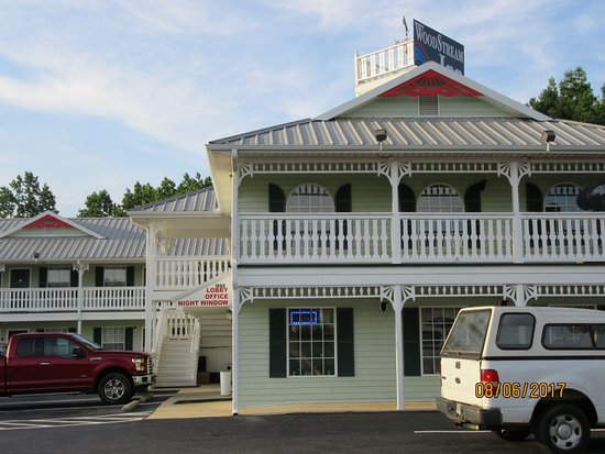 Hogansville, Τζόρτζια: front of hotel