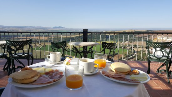 Hotel El Convento: Breakfast terrace
