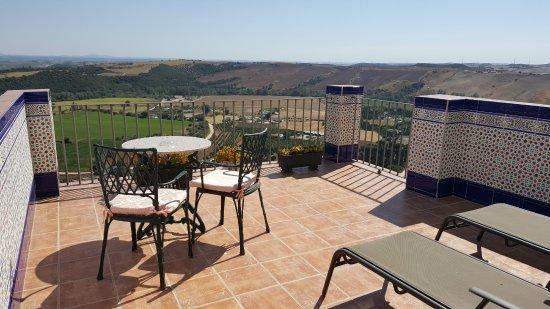 Hotel El Convento: Room terrace