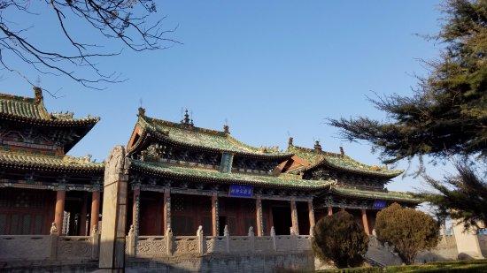 Yuncheng, Trung Quốc: 廟大殿