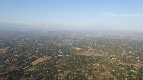 Sky's the Limit Ballooning Adventures: vol à 700 mètres d'altitude tout est calme
