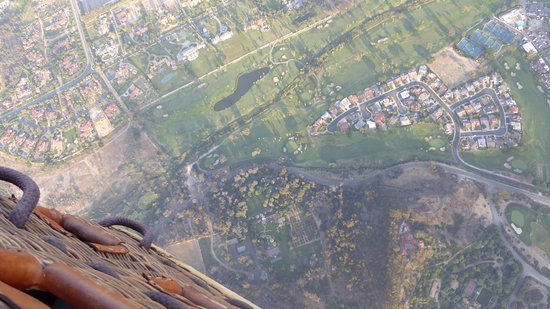 Sky's the Limit Ballooning Adventures: on monte aucune sensation de vertige :)
