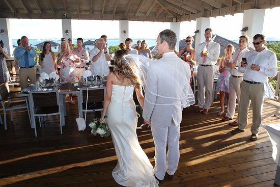 Stocking Island, Great Exuma: Wedding Reception @ Lumina Point (courtesy of Images by Alex)