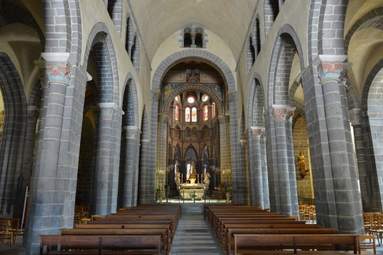 Riom, Francja: La nef