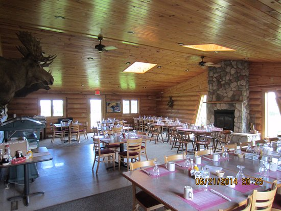 Squaw Lake, MN: Private dining room for 50.
