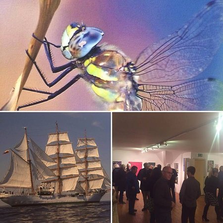 Bandon, Irland: Art Exhibition at Skylight Gallery