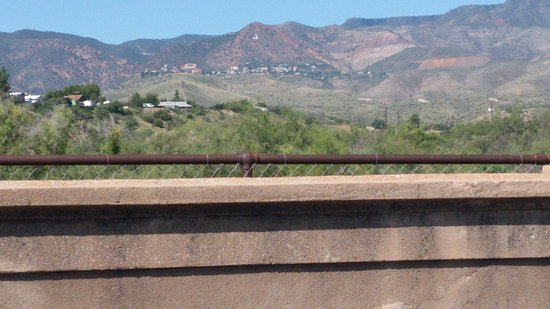 Historic Broadway Bridge: View of Jerome, Arizona
