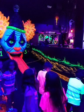 Monster Mini Golf : The last hole is the most fun!