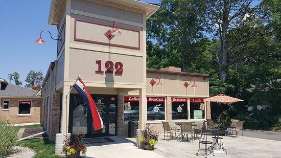 Brockport, État de New York : Grinds 122 Cafe