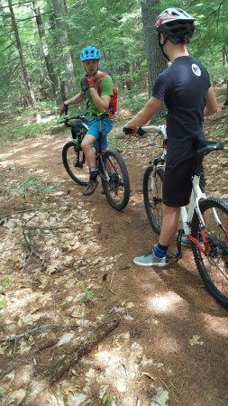 Parsonsfield, ME : The beginning of the many challenging trails