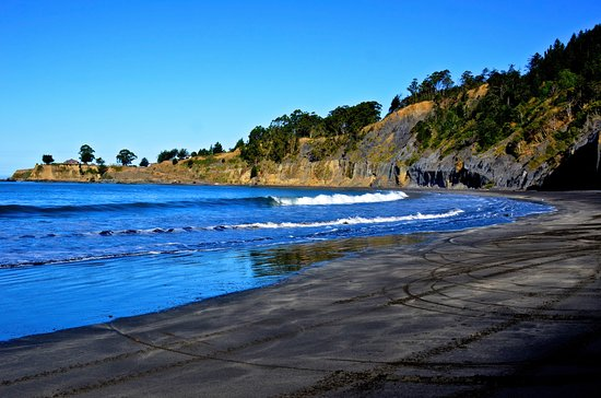 Shelter Cove, CA: Beach