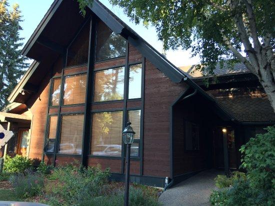 Good Medicine Lodge : Beautiful entrance