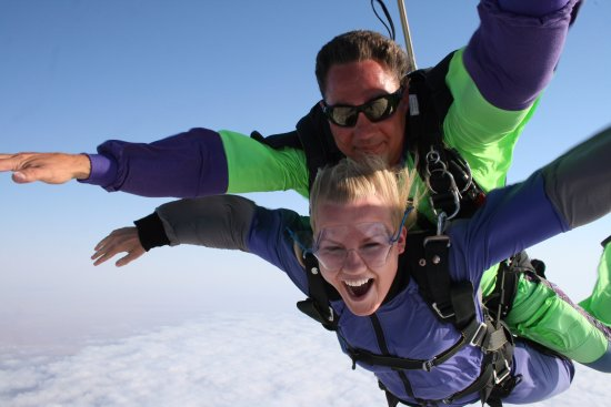 Swakopmund Skydiving Club: I see the Camera man