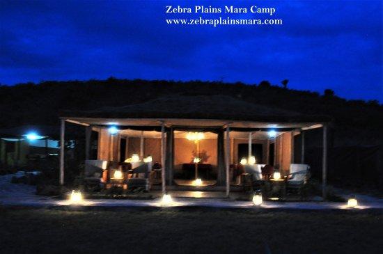 Zebra Plains Mara Camp: Our dining