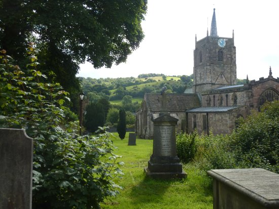Wirksworth, UK: St Mary's church near No 37