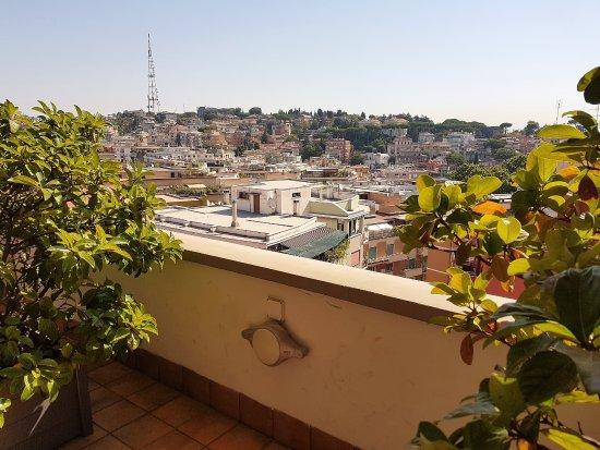 Grand Hotel Tiberio: roof top