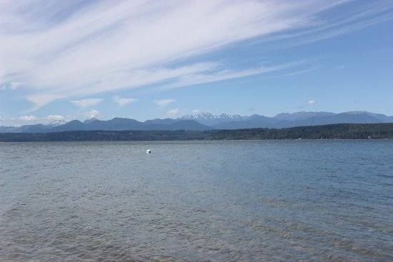 Poulsbo, WA: View from the beach