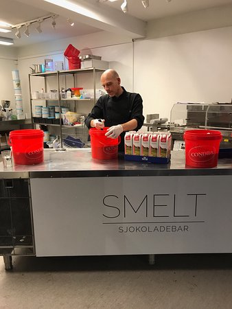 Gjøvik kommune, Norge: SMELT sjokoladebar
