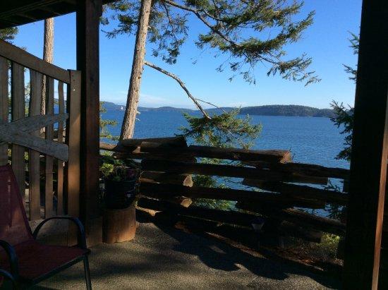 Pender Island, Canada: Terrace view