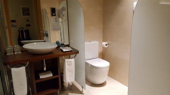 Hotel Campoamor: Lavabo, inodoro
