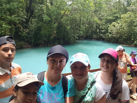Costa Rica Green Life Tours: Rio Celeste waterfall and rain forest hiking at Tenorio Volcano National park.