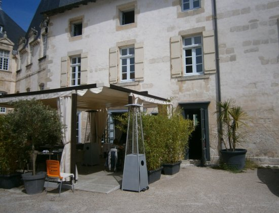 Le scorlion : La terrasse